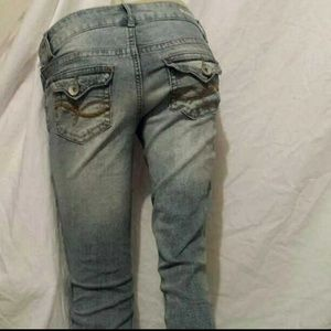 LEI Ashley Lowrise Bootcut Jeans